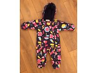 Baby girls snow suit age 3-6 months from Marks & Spencer