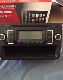 2011 VW GOLF MK6 1.2L OR 2L PETROL 5DR PANASONIC RADIO CD MP3 PLAYER 5K0 035 156