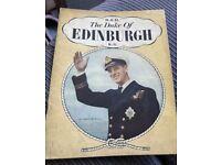 H.R.H The Duke Of Edinburgh KG Book