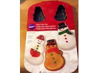 Wilton Christmas tins - NEW Snowman