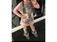 Mayoral Jumper Dress Age 7/8