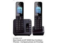 BT Twin Handset Telephone with Answering phone + Call Blocker, VGC, £20,