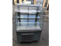 Cake desert display fridge for shop cafe restaurant takeaway nshdhsj