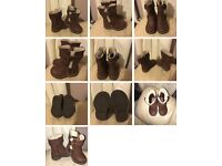 Girls infant size 4 boots