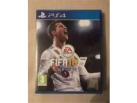 FIFA 18 PS4 Mint