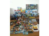 Lego mini figs and sets