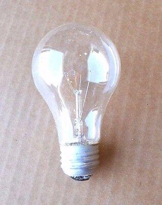 4-PK NEW 40W Watt 120-130V CLEAR BULB Transparent LIGHT BULB Incandescent -
