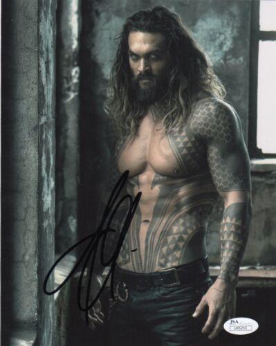Jason Momoa Aquaman Justice League Autographed Signed 8x10 Photo JSA COA #12
