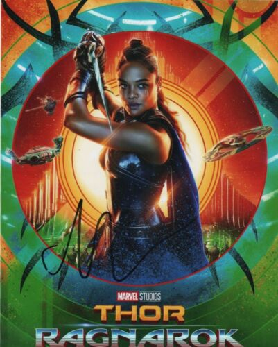 Tessa Thompson Thor Ragnarok Autographed Signed 8x10 Photo COA #B014