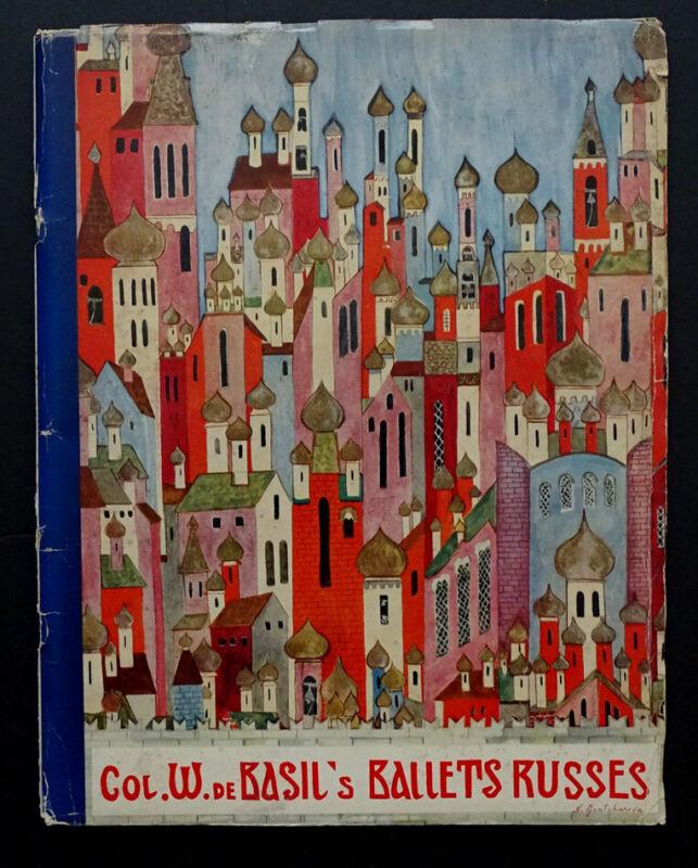 Vintage 1936 1937 Season BALLET RUSSE DE MONTE CARLO Tour Program / DANILOVA