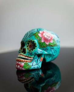 TURQUOISE LOTUS POD SKULL - Milly + Eugene - Brand new stock South Coogee Eastern Suburbs Preview