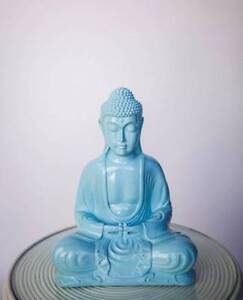 30cm Sky Blue Buddha - Milly + Eugene - Brand new stock South Coogee Eastern Suburbs Preview
