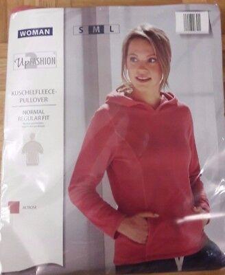 Damen Kuschelfleece Pullover von UpFashion Gr M Neu