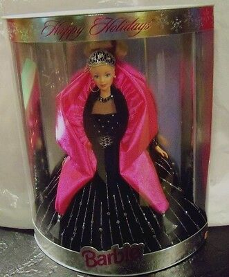 Mattel 1998 Happy Holiday Special Edition Barbie Blonde NRFB