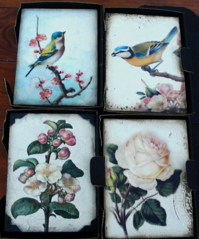 Sid Dickens Memory Blocks Set of Four Mint Condition