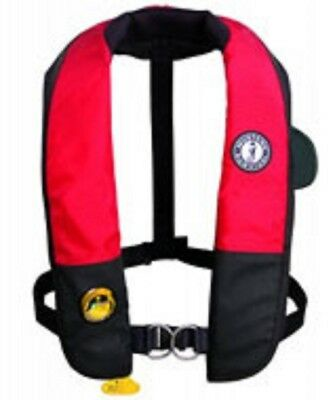 Mustang Sailing Harness (MD3184 MUSTANG SAILING PFD HIT INFLATABLE W/ SAILING HARNESS, (AUTO HYDROSTATIC) )