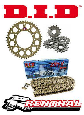 Renthal / DID 520 Race Chain & Sprocket Kit to fit Honda CBR 1000 RR Fireblade