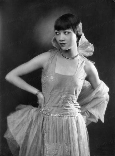 8x10 Print Anna May Wong Striking Fashion Portrait #GSH