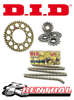 Renthal / DID Chain & Sprocket Kit to fit Yamaha YZF-R125 2008-2015
