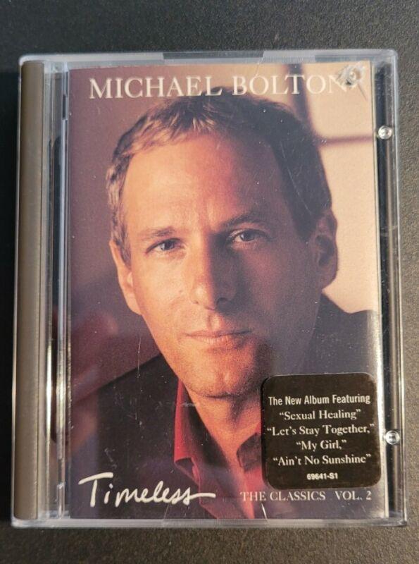 Michael Bolton Timeless The Classics Vol 2 MiniDisc