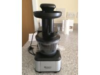 Hotpoint Ariston SJ 4010 FSL0 slow juicer - used very few times