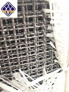 304 stainless steel crimped wire mesh 1.2m width, mesh 2/3/4/6 Arndell Park Blacktown Area Preview