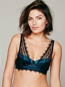 NWT Mimi Holliday Bisou Bisou Silk Padded Bra Size 34E from Anthropologie $92
