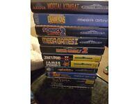 Megadrive Games Mixed.