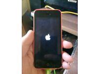 Apple iPhone 5c - 16GB - Pink (EE) Faulty