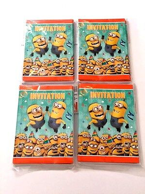 Despicable Me Minions Party Invitations, (32 Pack) - Party - Despicable Me Invitation