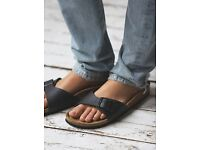 Brand new Birkenstock black leather sandals size 40 (7)