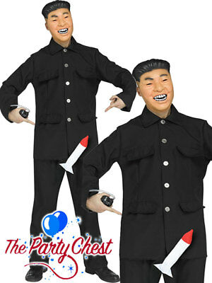 Supremes Fancy Dress Kostüme (ADULT ROCKET MAN KIM JONG UN COSTUME Supreme Leader Fancy Dress Outfit 3216R)