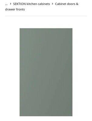 """Ikea BODARP Door gray-green 18x30"""" 104.356.10 Hard to Find"""