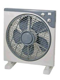 Brand new 12 inch 300mmspace saving oscillating box fan