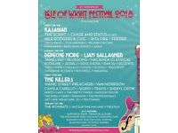 Isle of Wight Festival ticket for sale