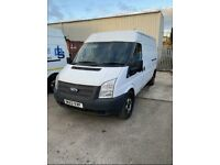 Ford transit t350 125 bhp 12 months mot some history drives minted