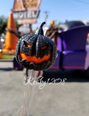 Disney DCA California Adventure Halloween Pumpkin Rubber Tire Light Up Straw (Halloween California Adventure)