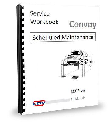 LDV Convoy Van Minibus Scheduled Maint. Manual 2.4 02 (Manuale Maint)
