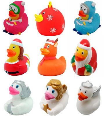 Weihnachten Ente.уточка или игрушка для ванной Lilalu Badeente Gummiente Ente Duck Schwimmente Winter Weihnachten Sammeln