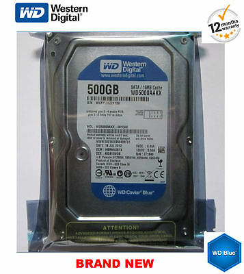 "500GB Hard Drive CCTV Desktop PC DVR SATA 3.5"" Top Brands WD, Seagate, Hitachi"