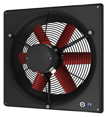12 Exhaust Fan - Corrosion Resistant - 1440 Cfm - 240460 Volts - 3 Ph - 16 Hp