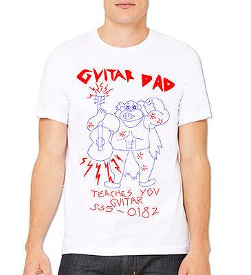 Guitar Dad T-shirt Halloween Costume cosplay Shirts Youth Adult](Guitar Halloween)