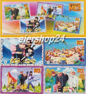Superpuzzle Minions ICH EINFACH UNVERBESSERLICH 3 inkl. aller 4 BPZ
