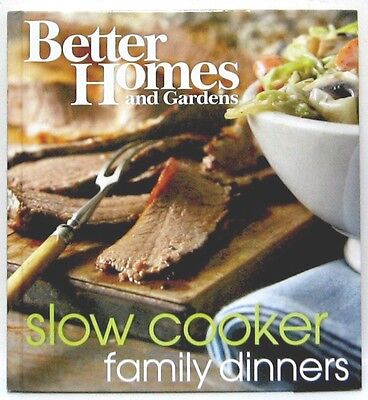 Better Homes and Gardens Slow Cooker Family Dinners Wp by Better Homes and (Best Slow Cooker Dinners)