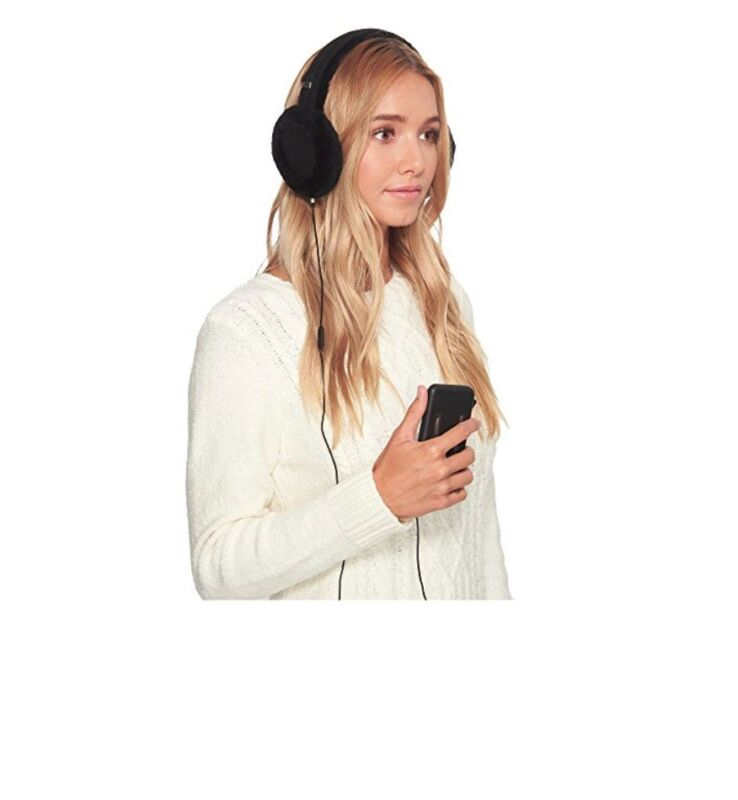 UGG Women's Classic Shearling Earmuff Speaker Technology w/ Gift Box NEW