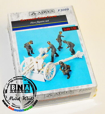 Aires 1/35 German Gun Crew 5 Figures F3010