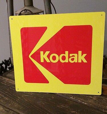 Kodak Camera 10.5 X 12 metal sign photography vintage advertising 50008