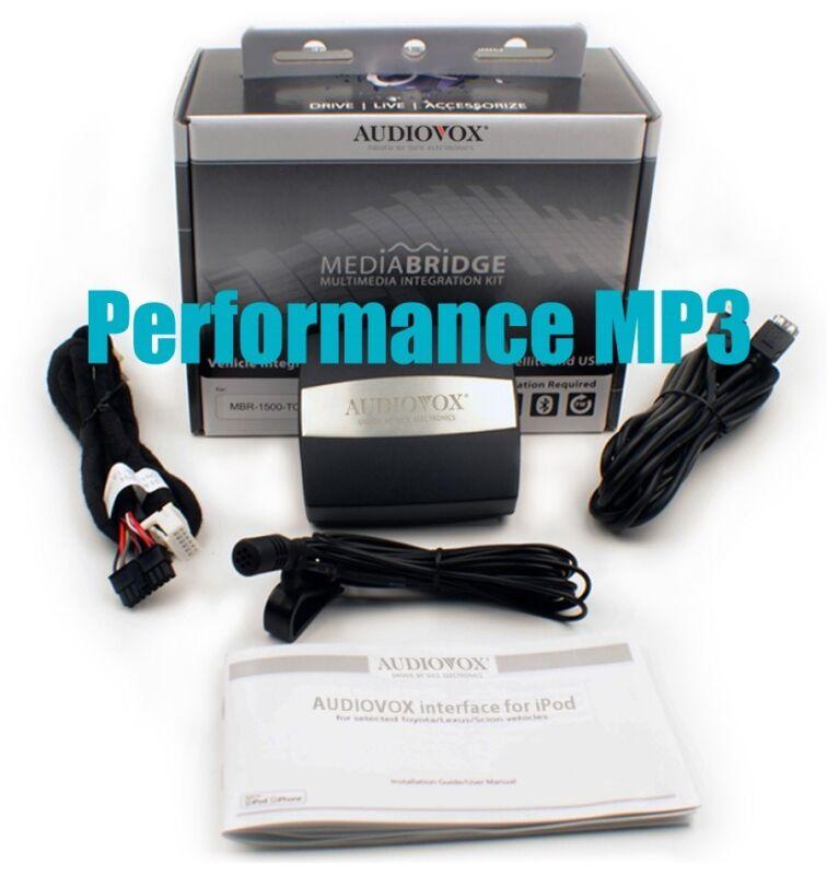 Audiovox Dice AMBR-1503-AVW Audi iPhone iPod Bluetooth Car Adapter