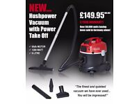 RUTLANDS workshop series hushpower vacuum with power take off RRP£149.99 only £80