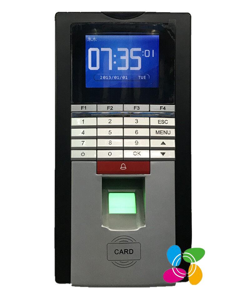 Fingerprint & RFID Card Door Access Control TCP/IP Fingerprint Time Attendance